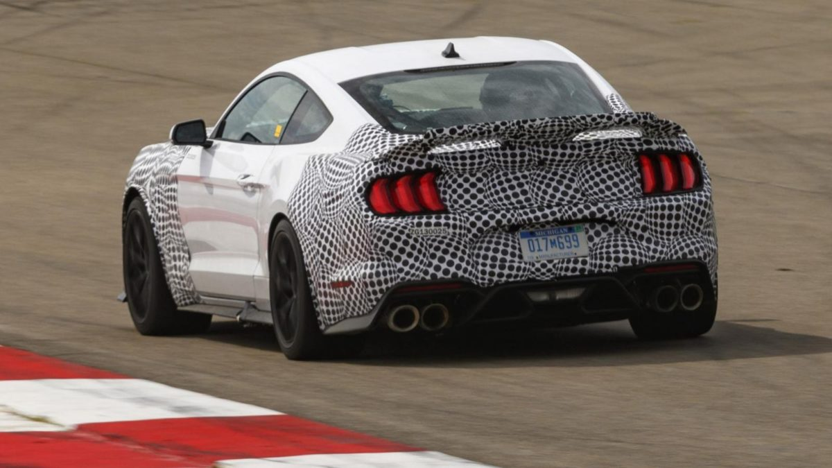 Ford Mustang Mach 1 teased 1