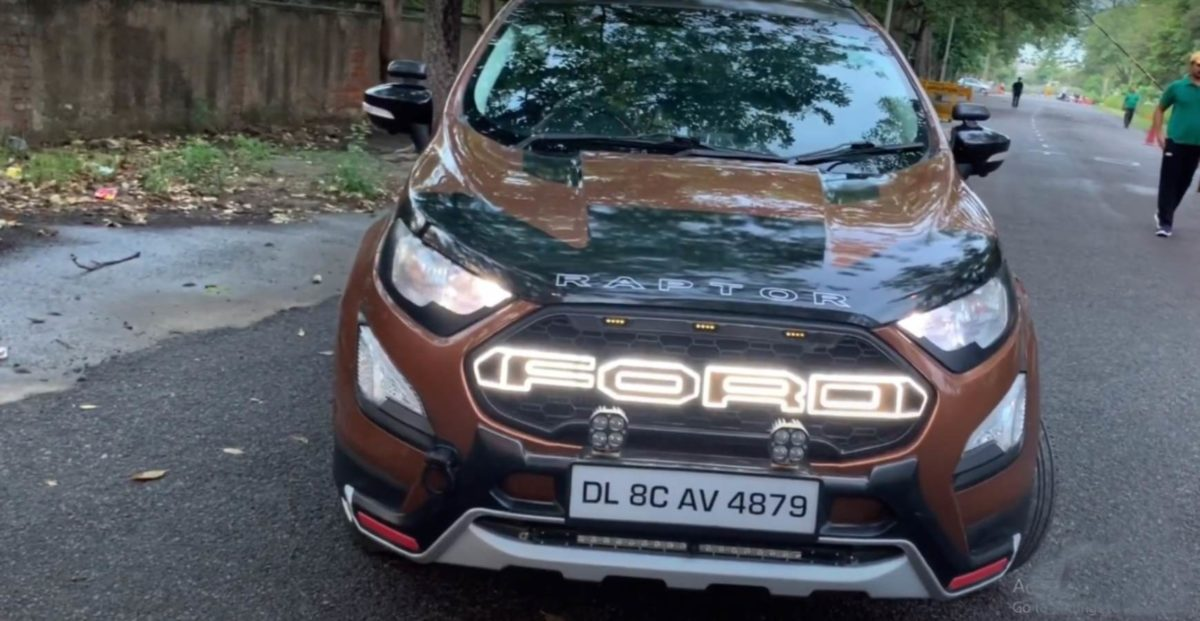 Ford ecosport modified 1