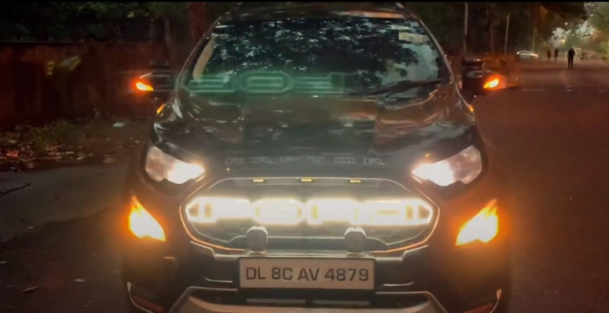 Ford ecosport modified 2