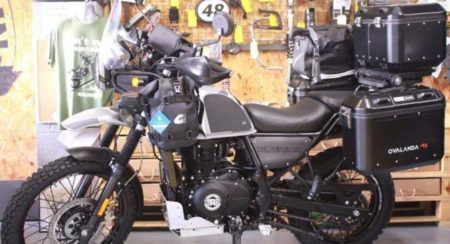 Royal Enfield Himalayan Gets A Revamped Into A Special Edition Called Ovalanda