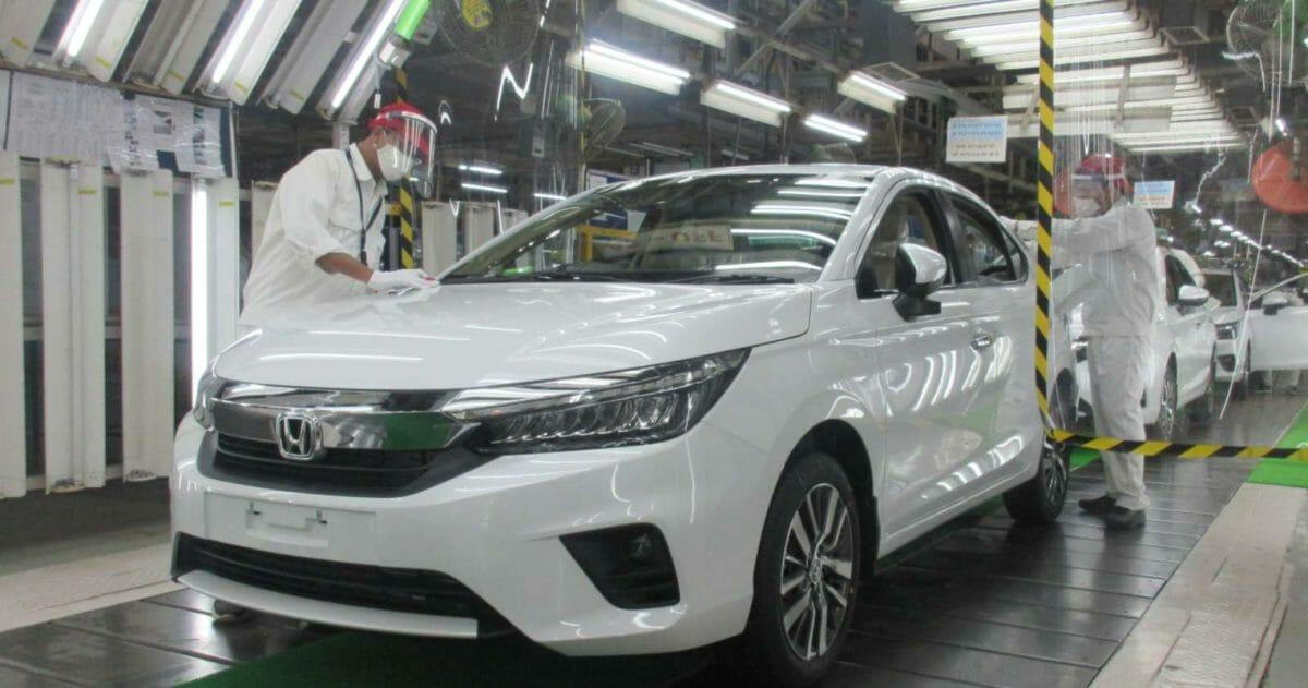 Honda City Production Begins