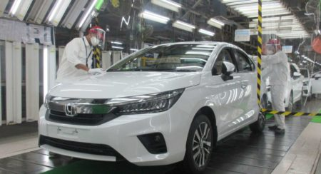 Honda City Production Begins