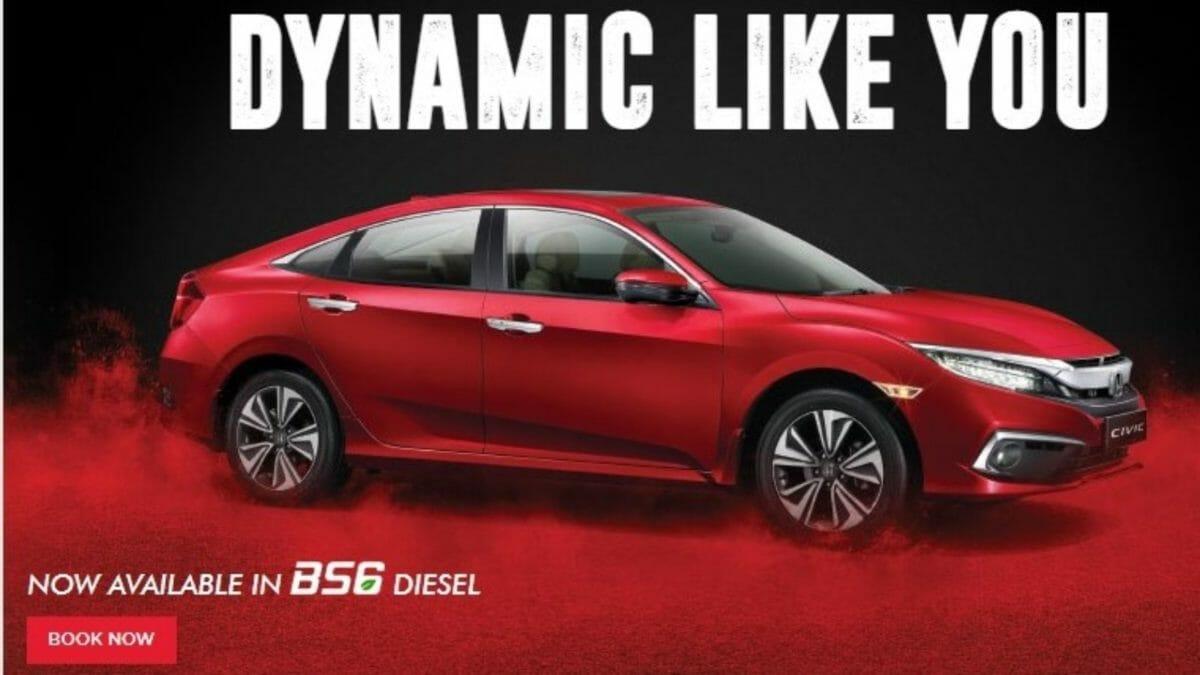 Honda Civic BS6 Diesel
