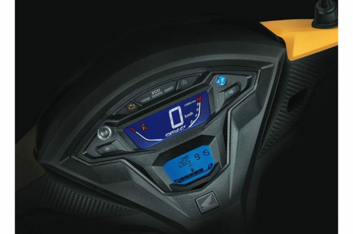 Honda Grazia Bs6 meter