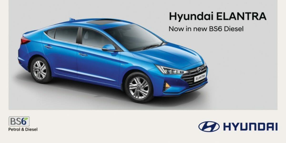 Hyundai Elantra BS6 diesl