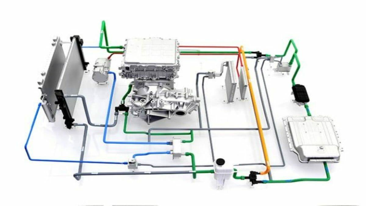 Hyundai Kia EV powertrain