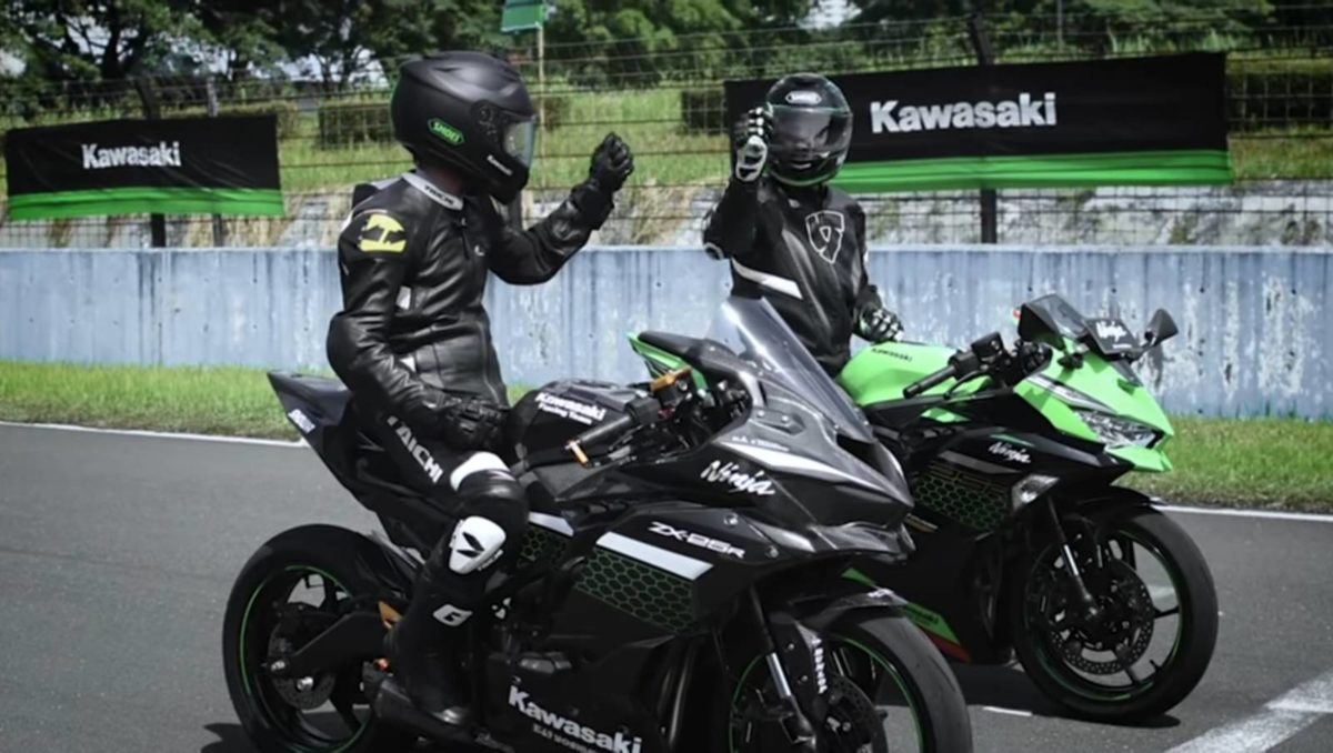 Kawasaki Zx 25R Custom Sentul Circuit