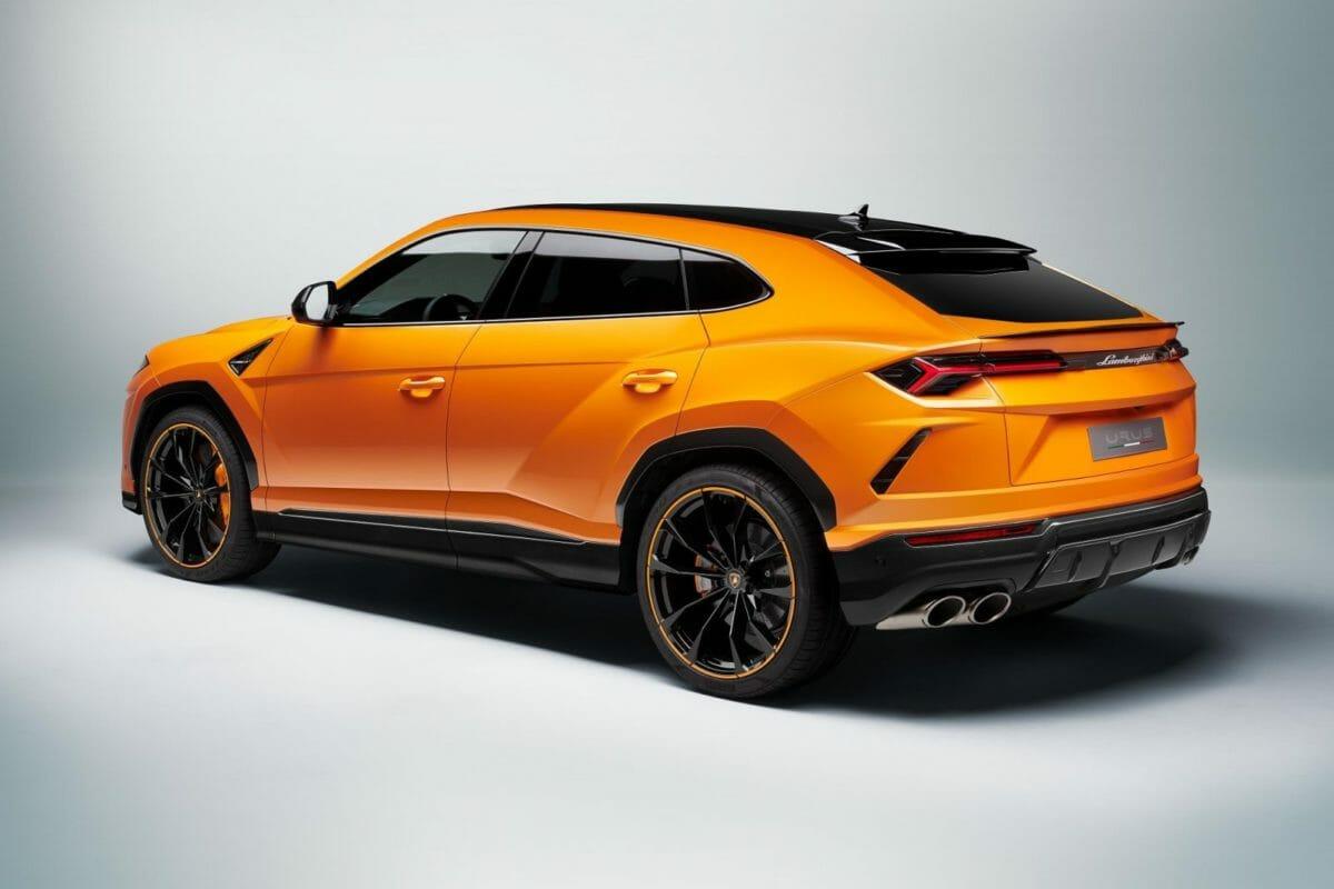 Lamborghini Urus Pearl Capsule – Orange Rear (1)