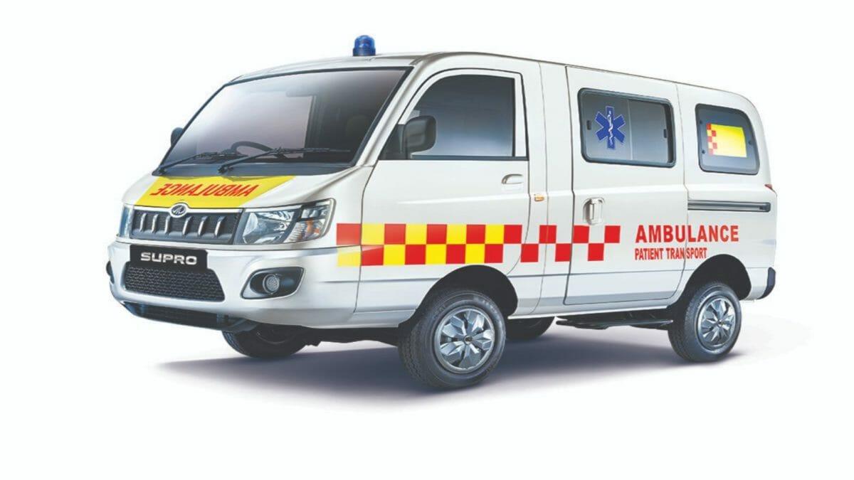 Mahindra SUPRO Ambulance BS6