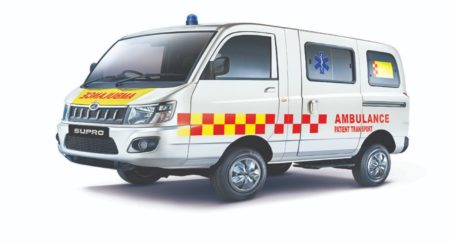 Mahindra-SUPRO Ambulance-BS6