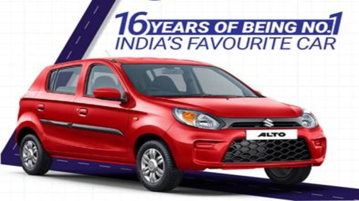 Maruti Alto best selling car