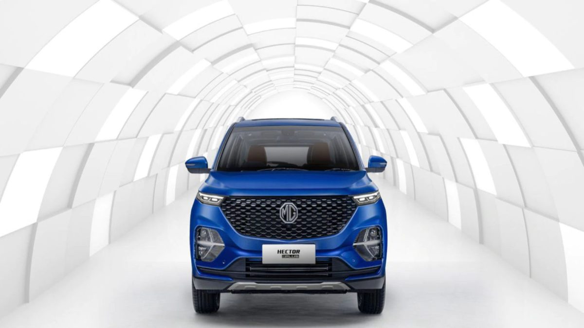 Mg Hector Plus listed