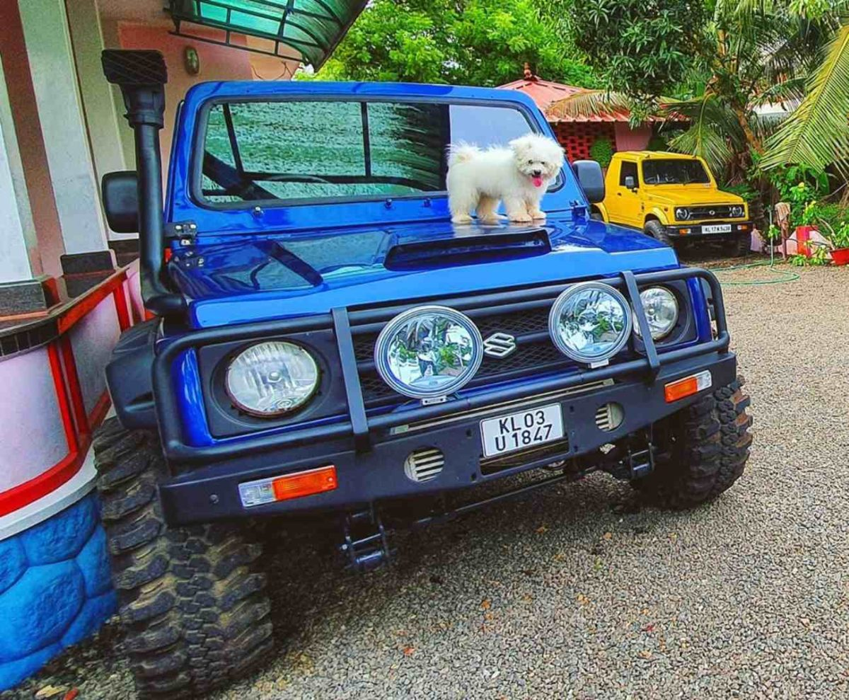 Modified Maruti Gypsy 2