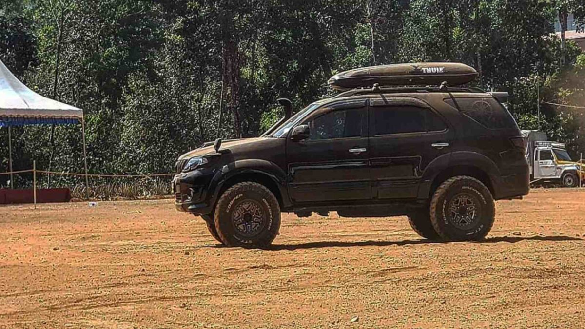 Modified Toyota Fortuner 1