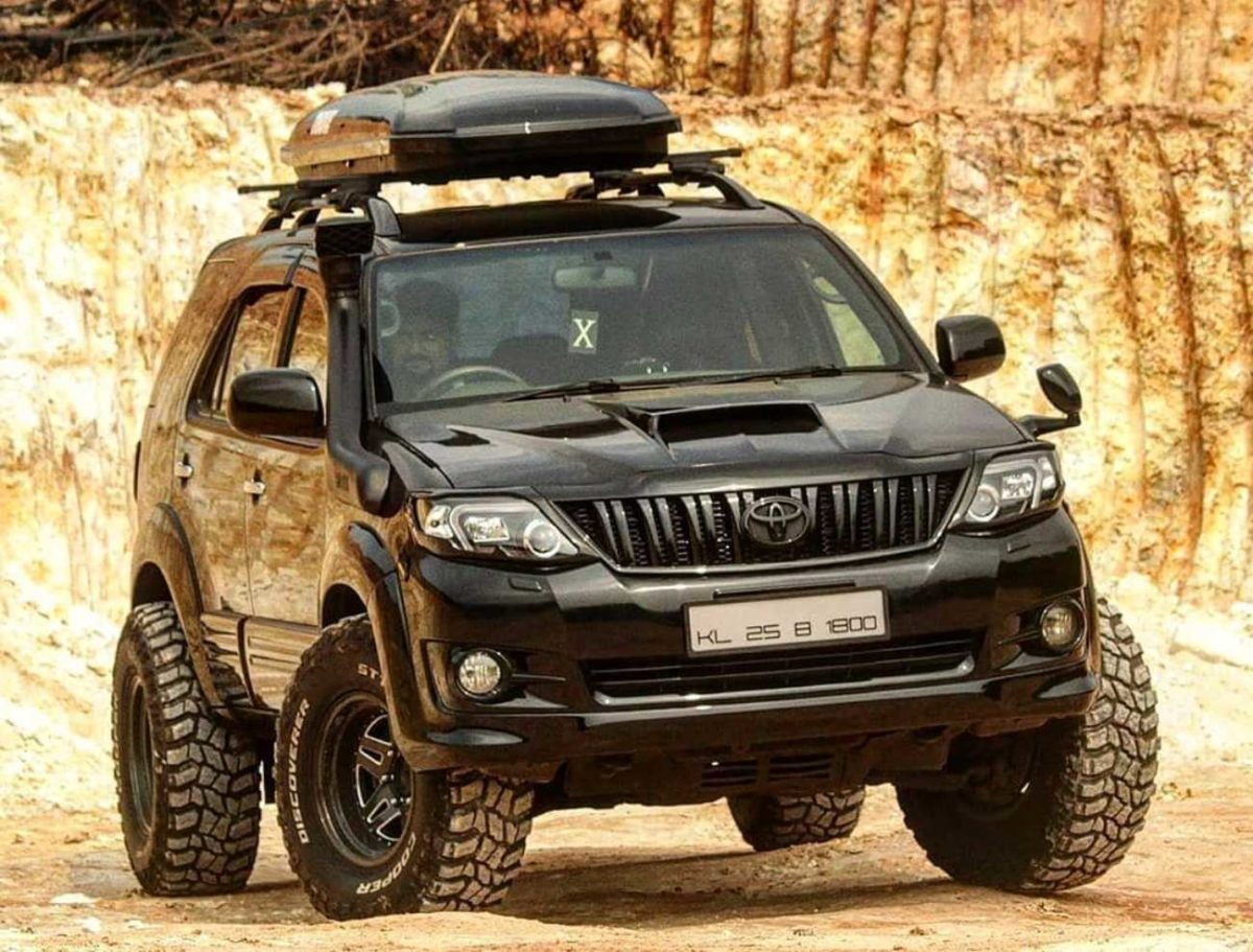 Modified Toyota Fortuner 2