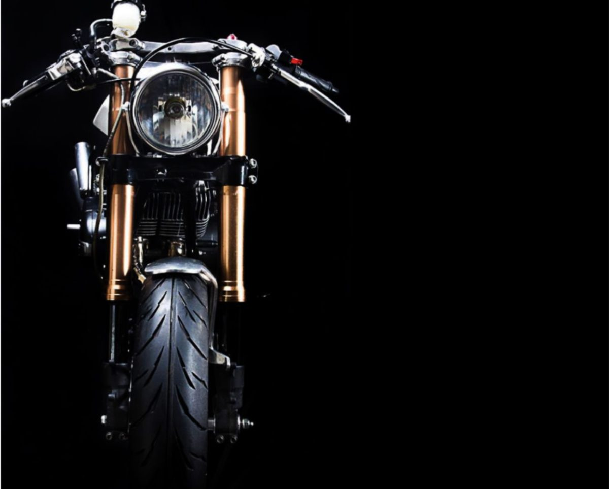 Modified Yamaha RD 350