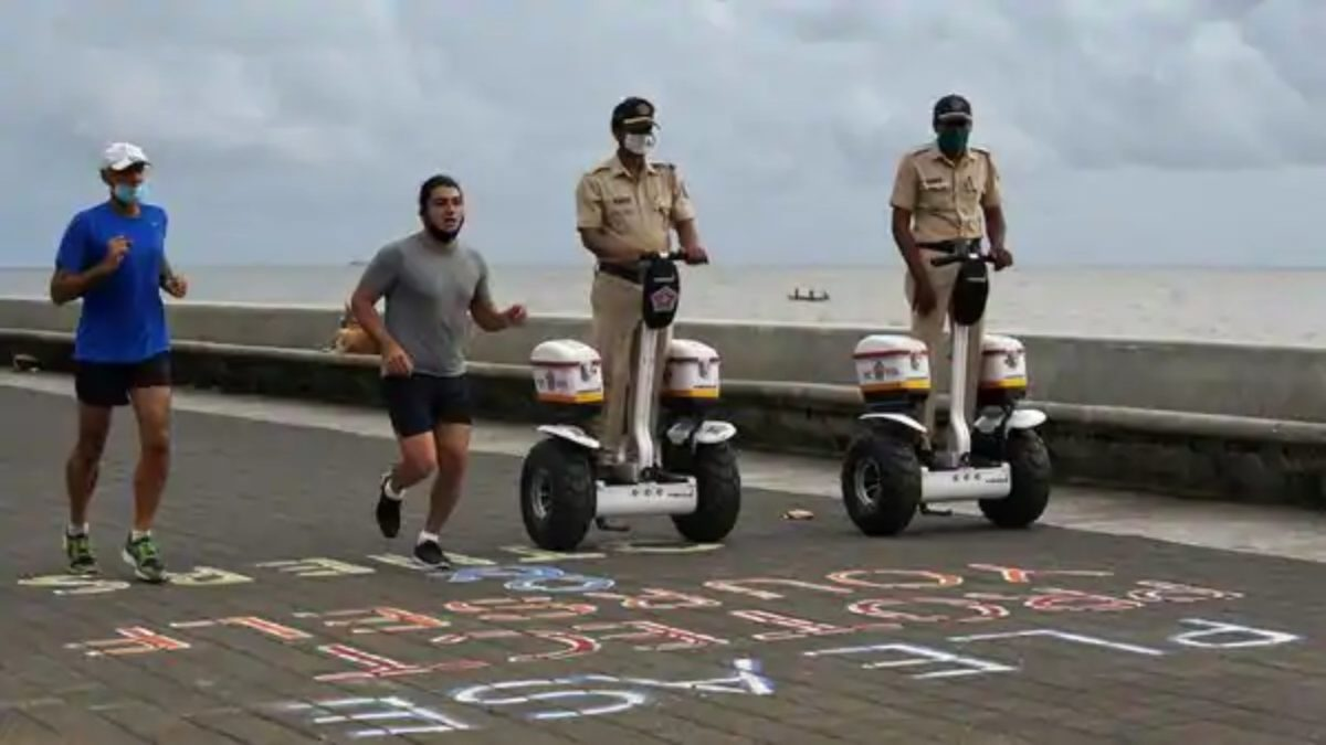 Mumbai Police Segway (1)