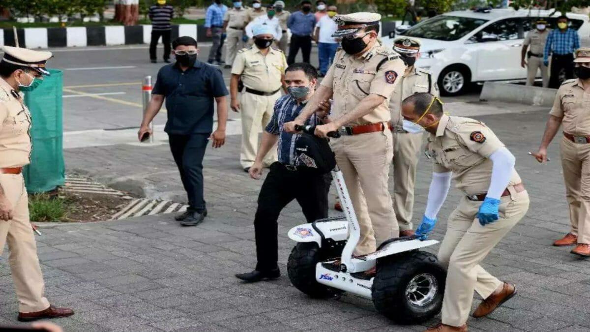 Mumbai police segway