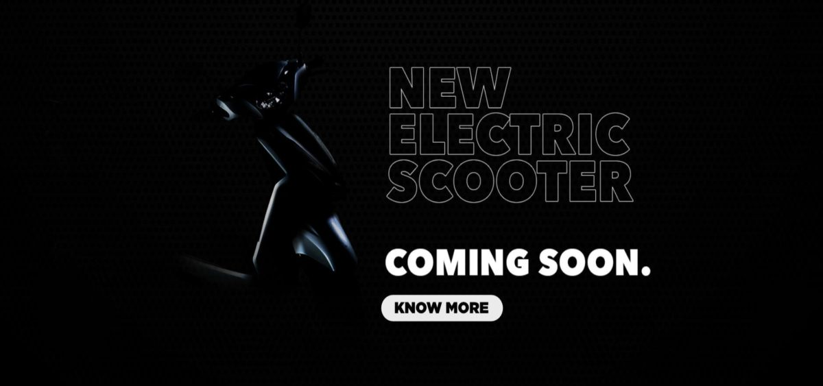 New Electric Scooter Teaser Homepage