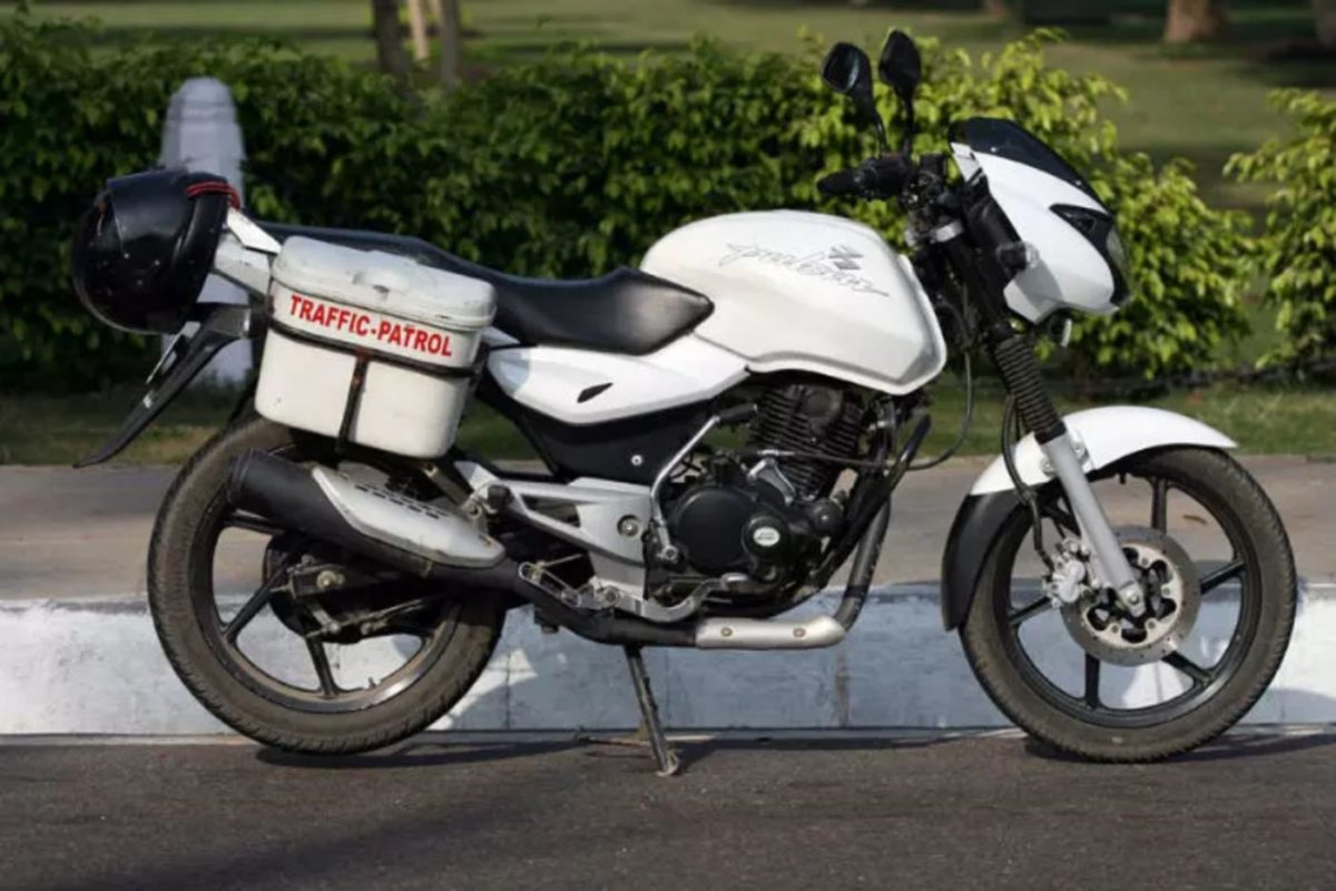 Police Force Bajaj Pulsar