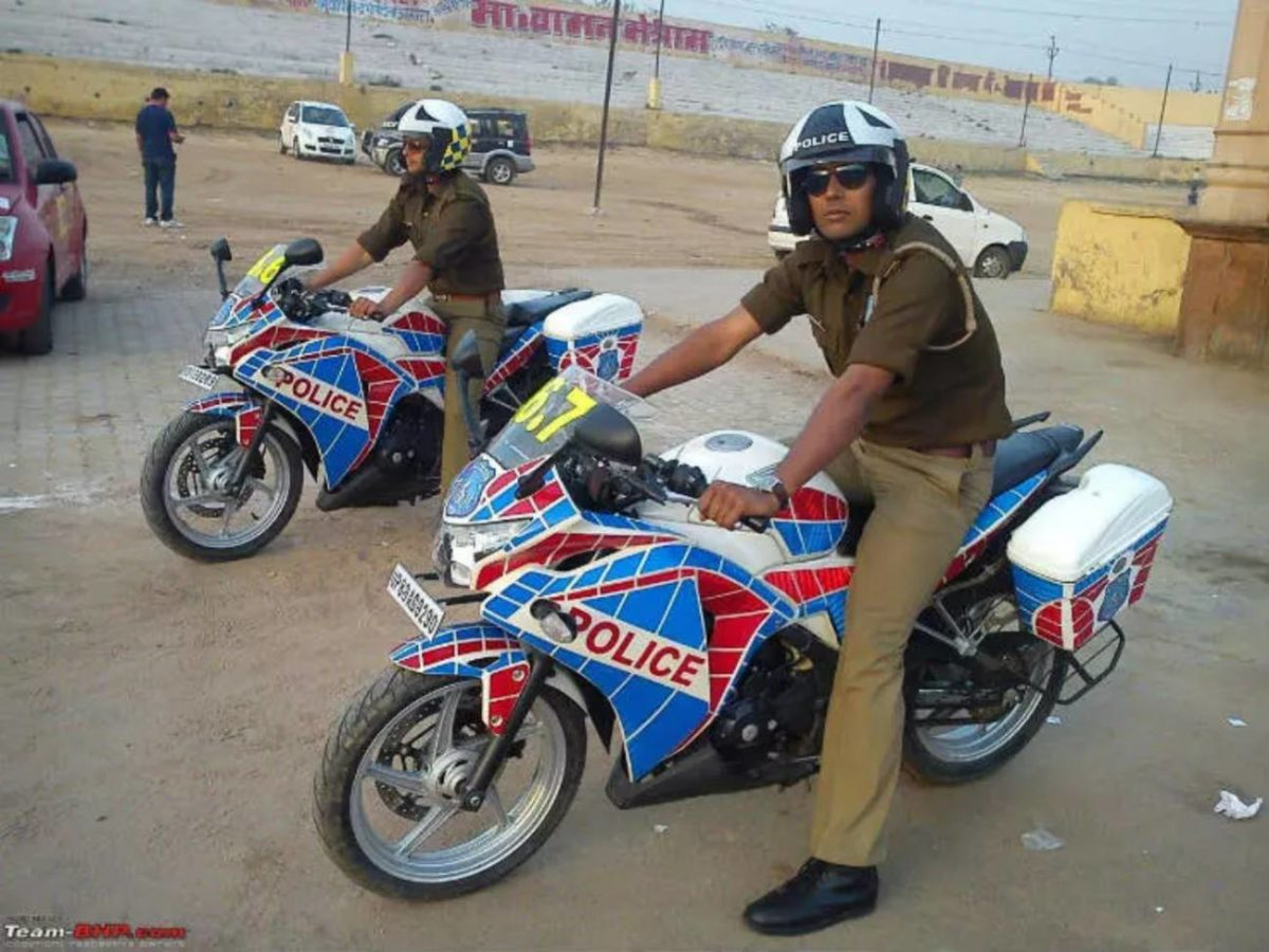 Police Force Honda CBR 250R