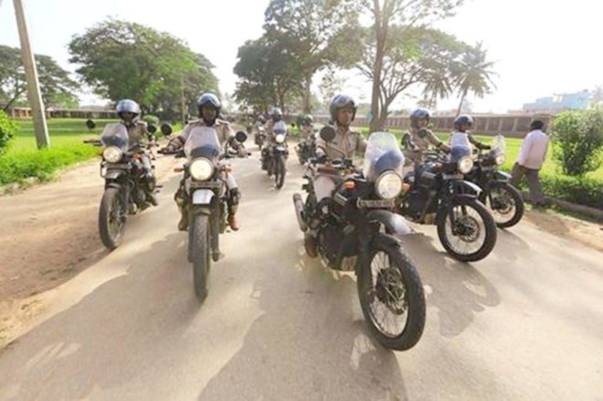 Police Force Royal Enfield Himalayan
