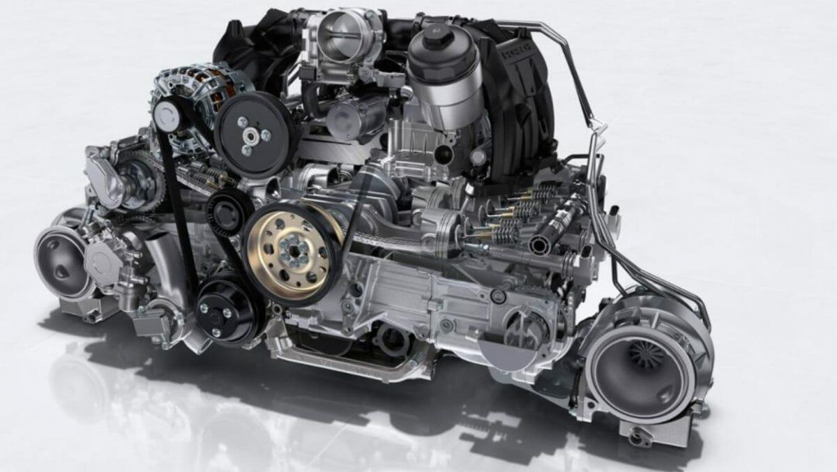 Porsche 911 Gt RS_ 3.8 litre twin turbo