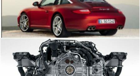 Porsche 911 flat engine