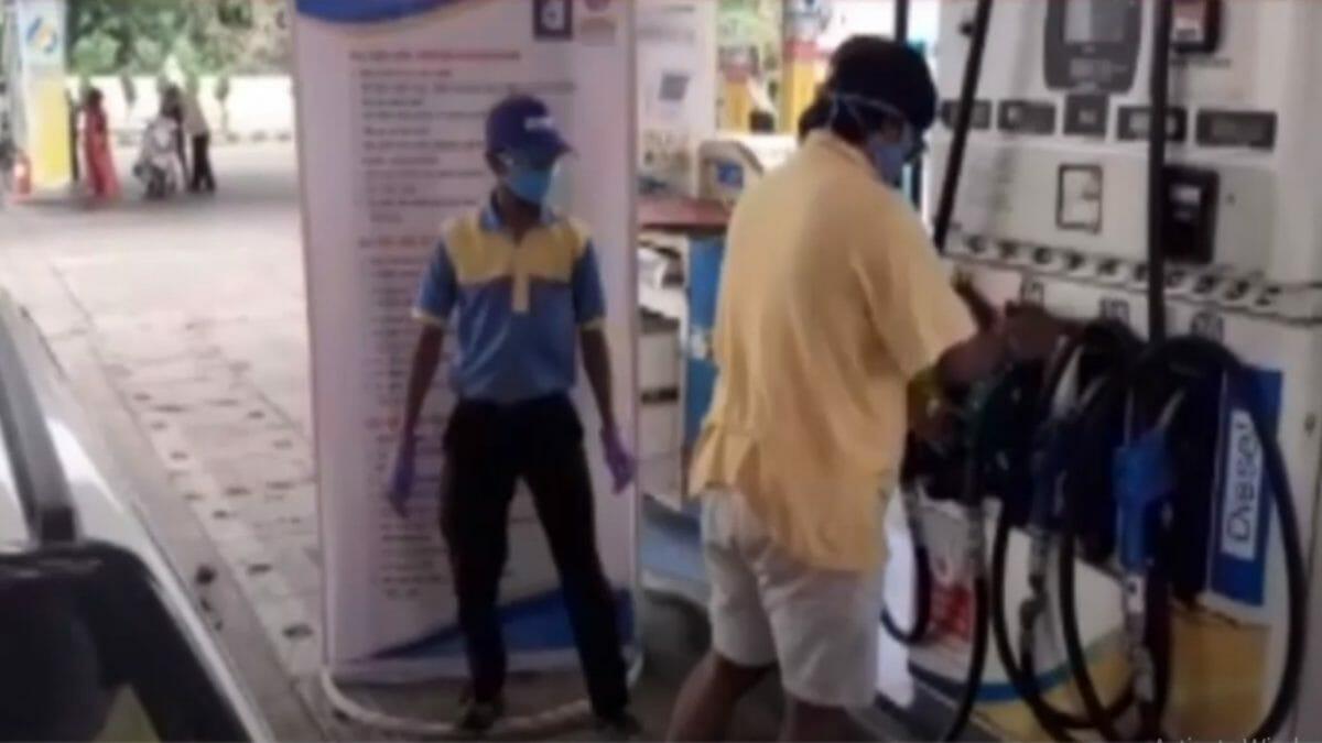 Pune atmanirbhar petrol Pump