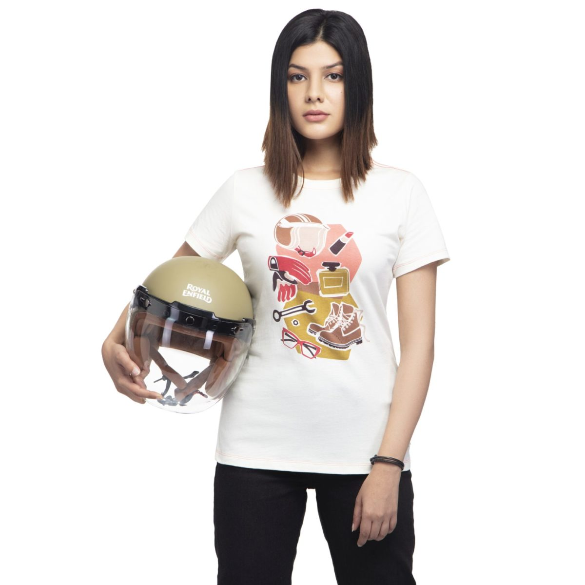 Royal Enfield Women's RIDE AS YOU ARE T SHIRT