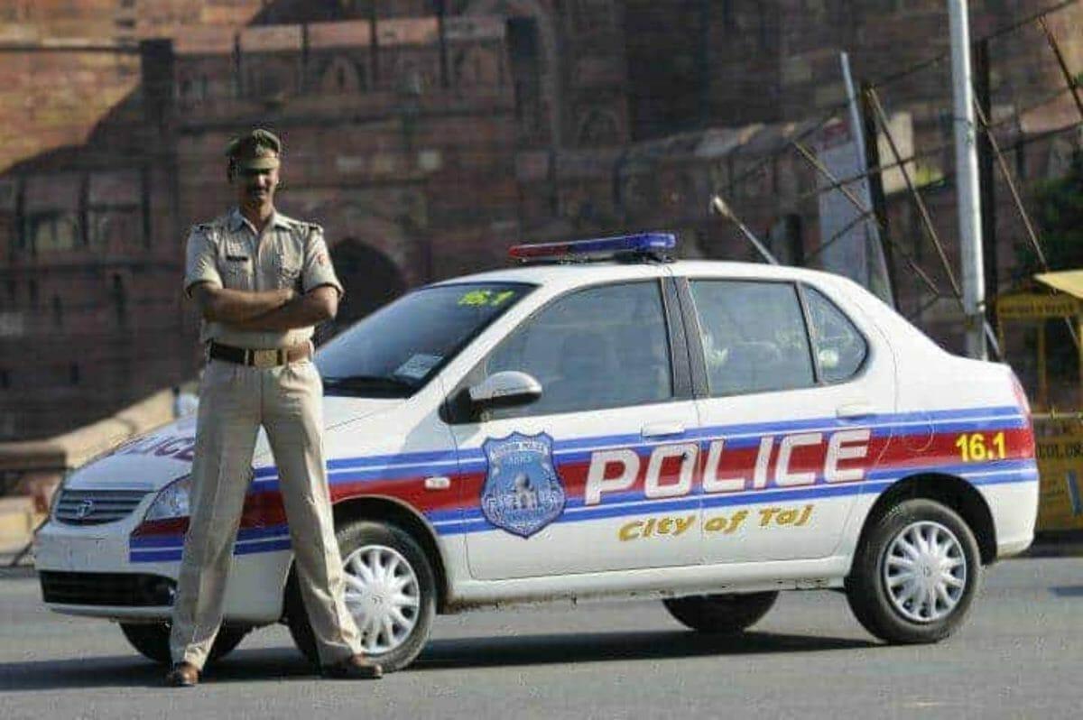 Tata Indigo agra police (1)