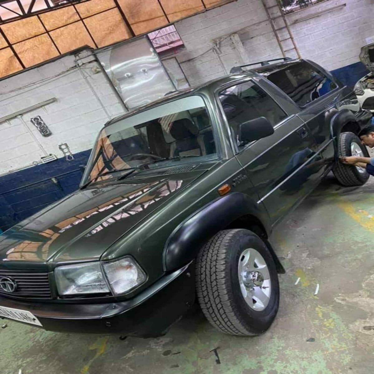 Tata Sierra restored