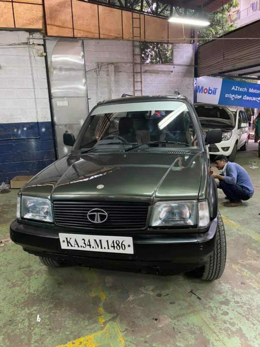Tata Sierra restored front