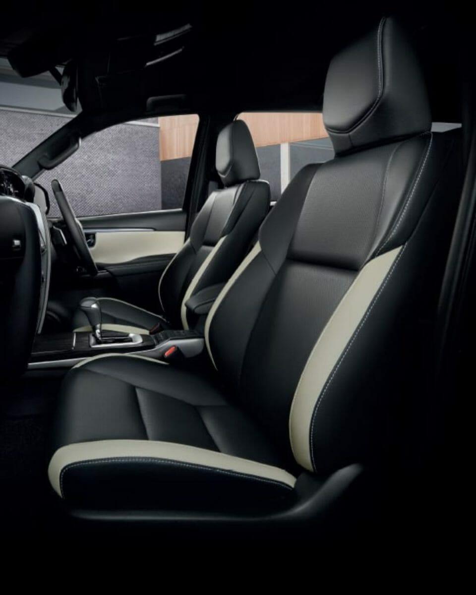 Toyota Fortuner Legender interior