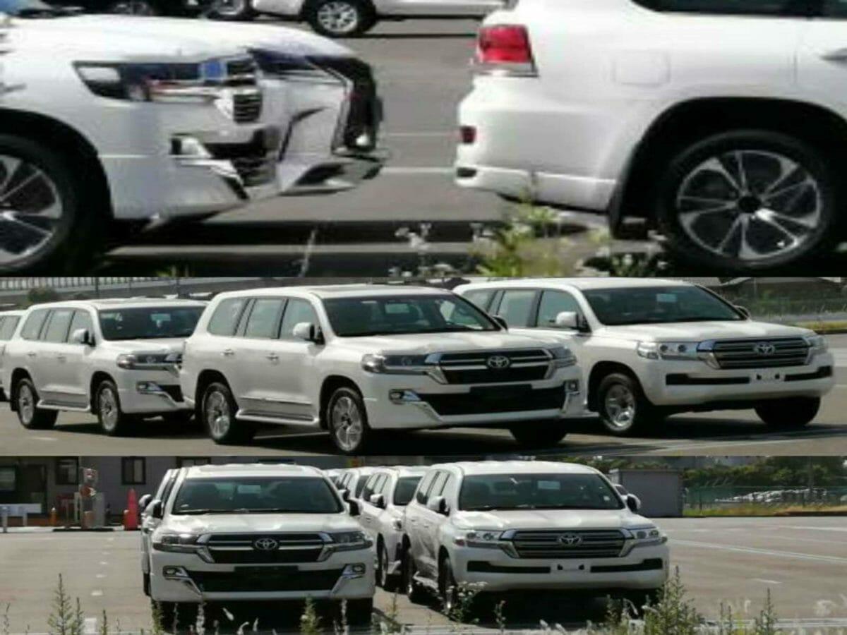 Toyota Land Cruiser facelift 2021