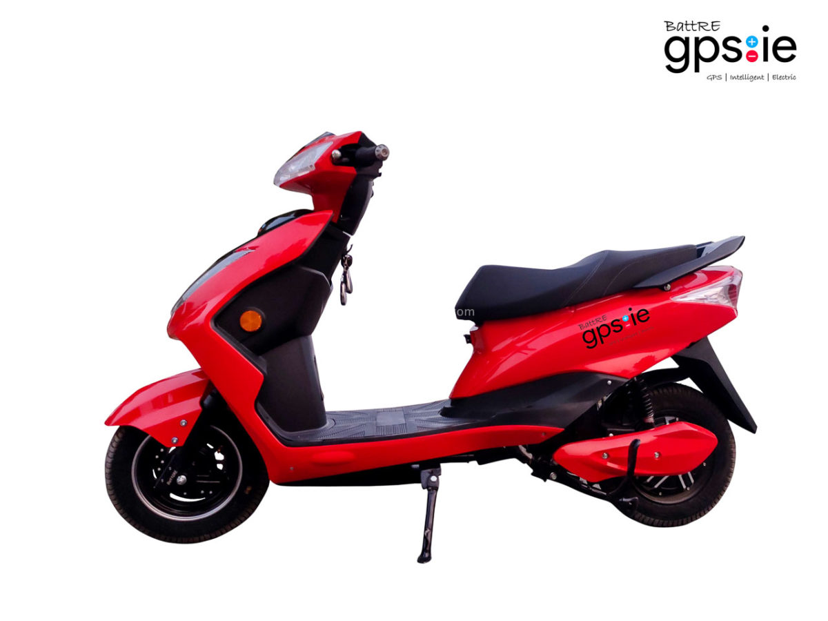 battre gpsie electric scooter red lhs 402f