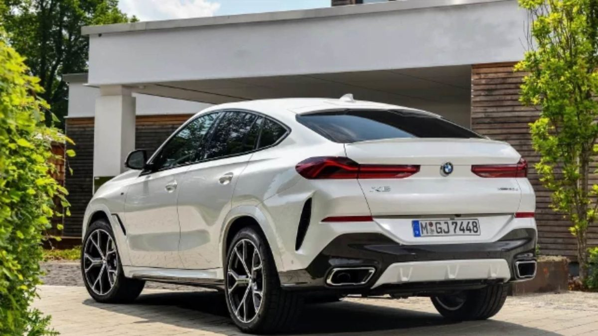 bmw new x6 rear