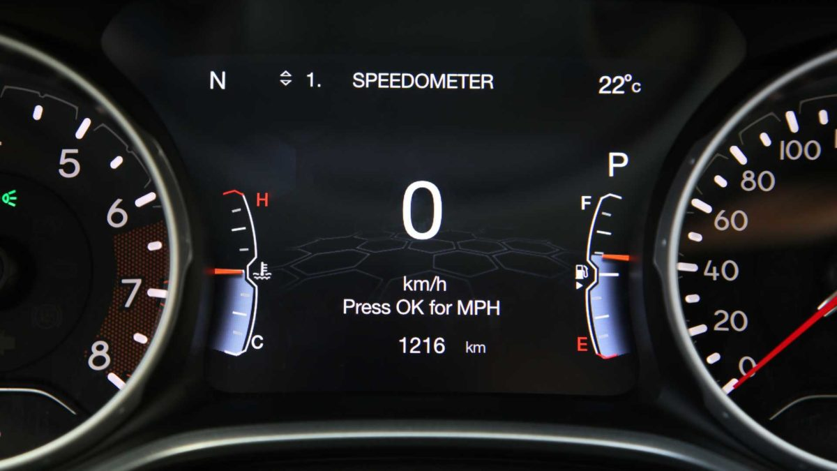 jeep compass 2021 instrument cluster