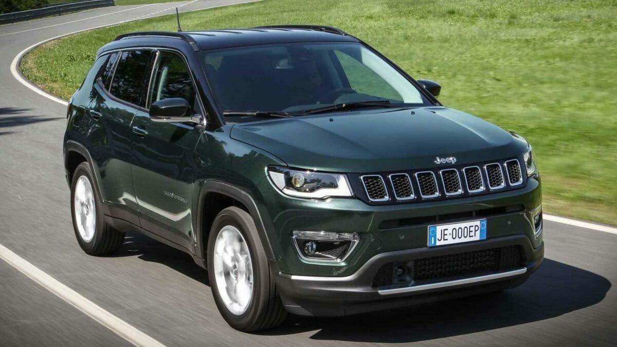 jeep compass 2021 facelift exterior