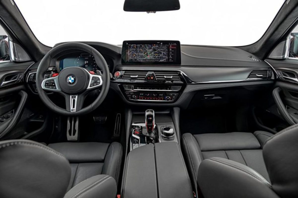 new bmw m5 competion interior