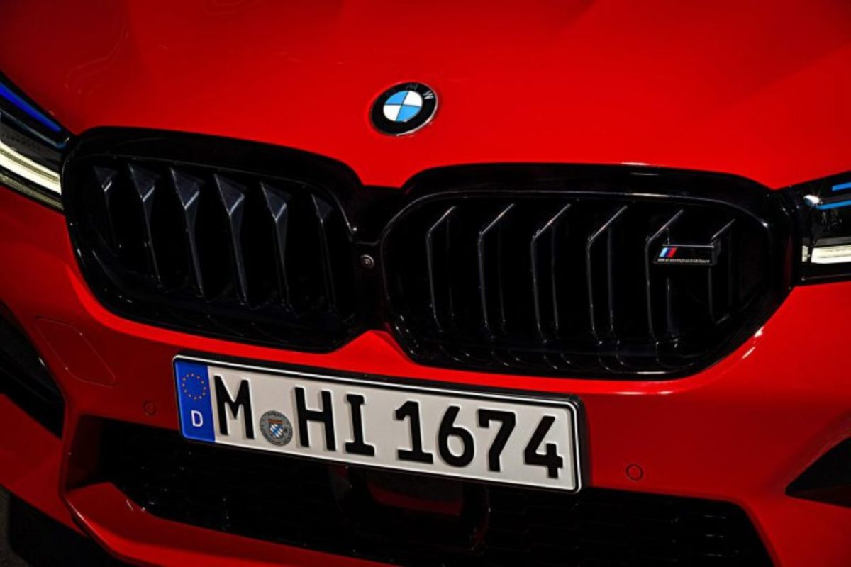 new bmw m5 grille
