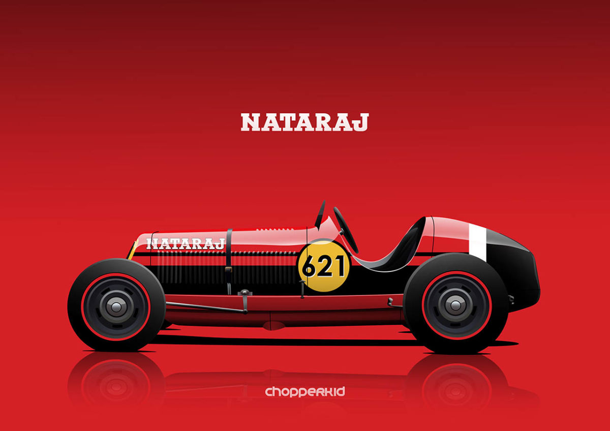 nostalgic indian brands car liveries nataraj 8cm