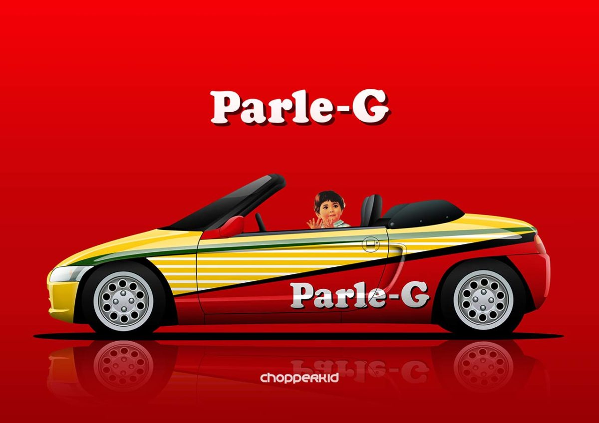 nostalgic indian brands car liveries parle g beat