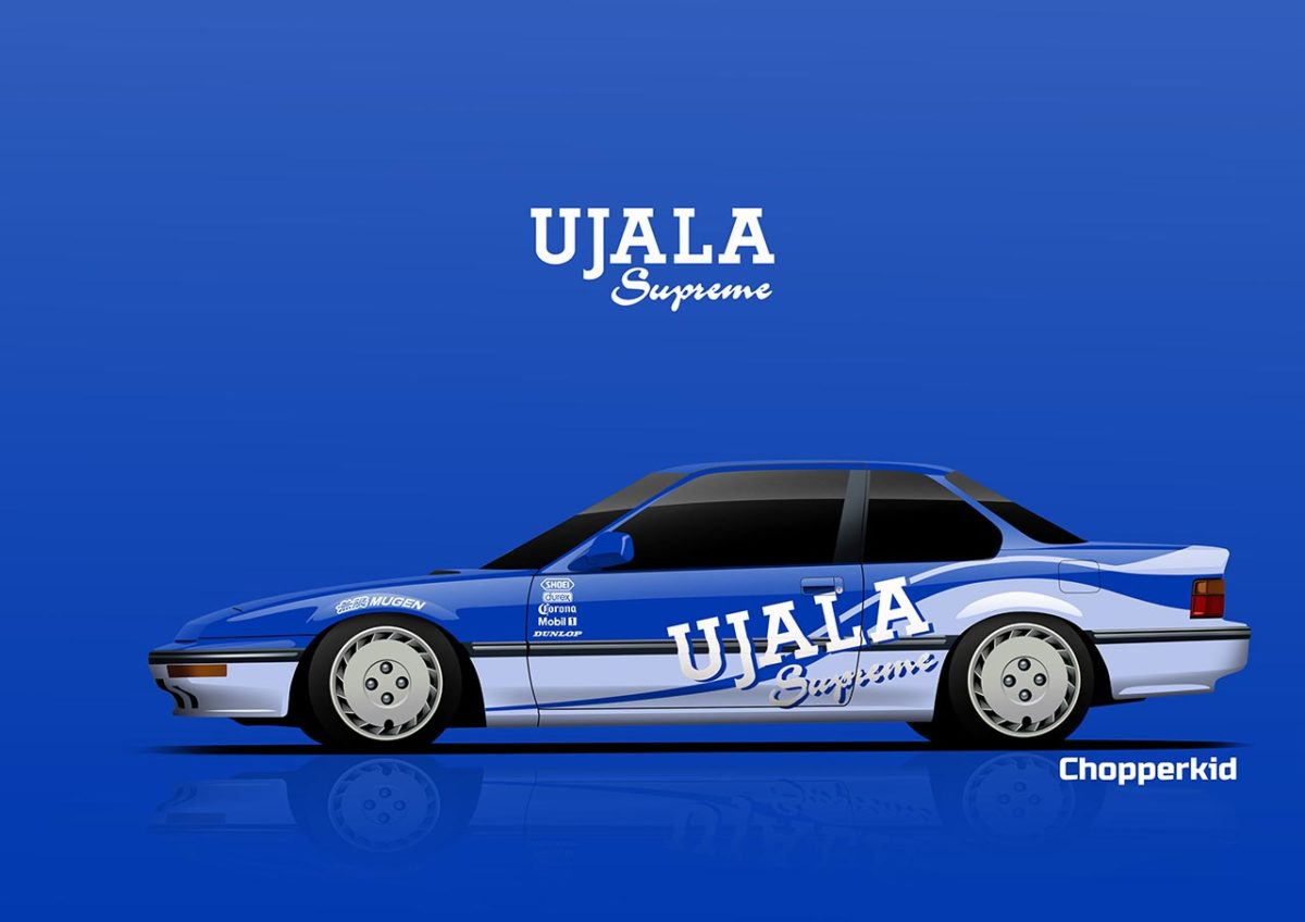 nostalgic indian brands car liveries ujala prelude