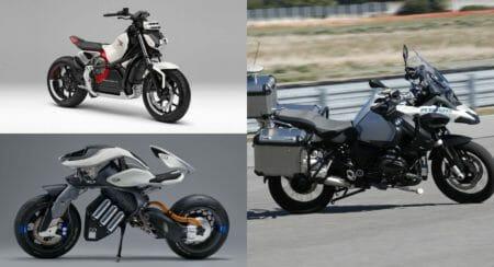 self balancing motorcycles