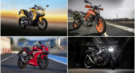 upcoming 400-500cc bikes