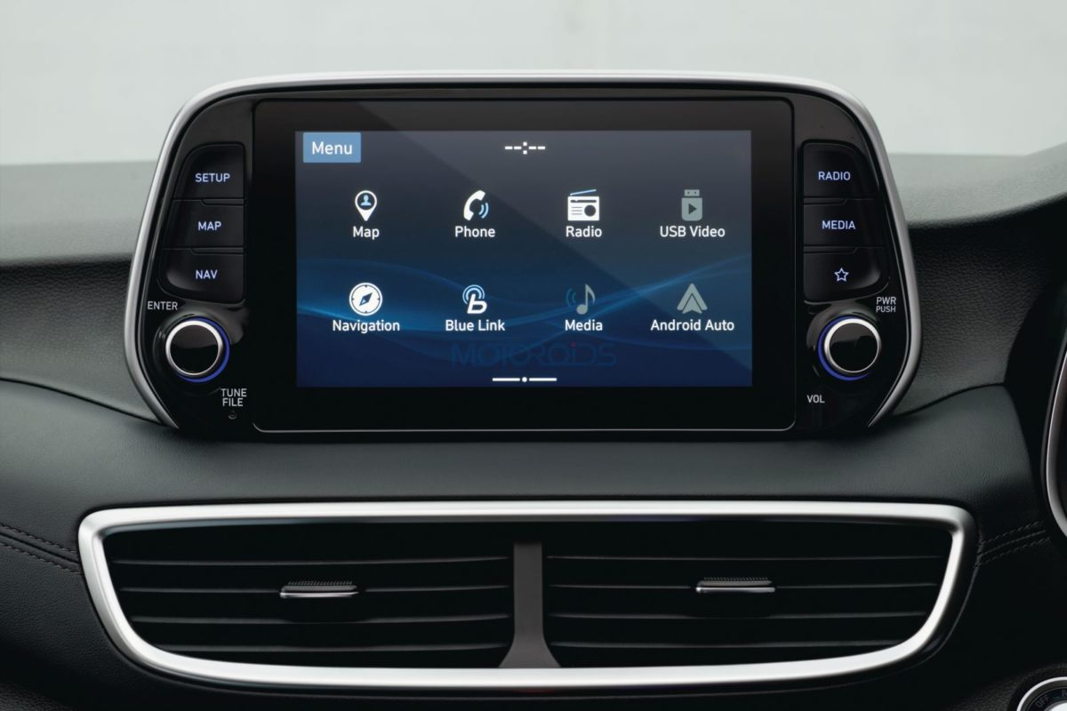 2020 Hyundai Tucson 20.32cm HD Audio Video Navigation System