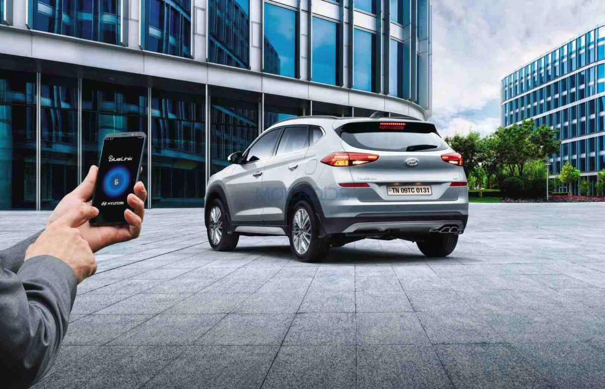 2020 Hyundai Tucson Blue Link Connected Car Technology