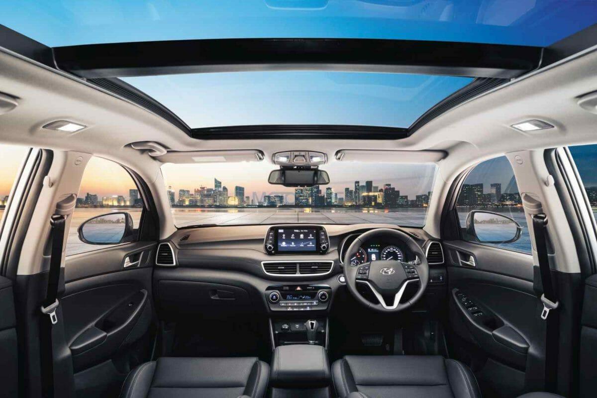 2020 Hyundai Tucson Premium Black Interiors