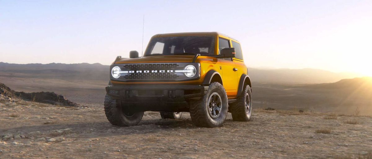 2021 Ford Bronco revealed
